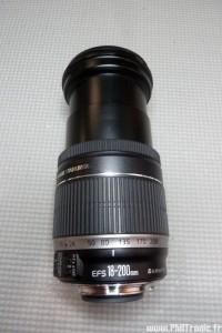 Zoom Canon EFS 18-200